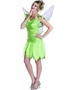 LICENSED DISNEY TINKER BELL FAIRY GIRLS HALLOWEEN COSTUME SIZE TEEN 6498T - $32.61