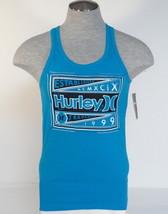 Hurley Signature Premium Fit Blue Tank Muscle Shirt Mens NWT - $26.24