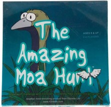 Amazing Moa Hunt Sealed Boardgame I Qideas New Zealand Kiwi Family Game Cib Oop - $46.74