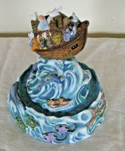 Noah's Ark Figurine Hand Painted Inspired by Bill Bell Limited Edition S... - $8.90
