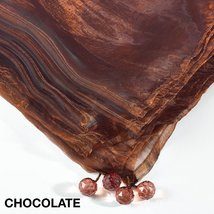 Fennco Styles Sorbet Tissue organza Multi Color Tablecloth - 2 Sizes (54... - €12,71 EUR