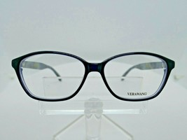 VERA WANG V 363 (NV) Navy 54 X 13 135 mm Eyeglass Frame - $79.15