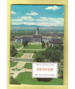 Book -- DENVER (American Geographical Society KNOW YOUR AMERICA Edition,... - $3.50