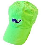 Vineyard Vines Whale Logo Baseball Hat, Green, Adjustable NWOT - $14.52