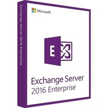 Exchange Server 2016 with 250 Enterprise CALs, full retail license, new. - $1,777.05