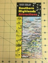 Vintage Brochure Southern Highlands Attractions Scenic and Historic Land... - $19.55