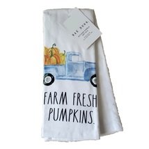 Rae Dunn Kitchen Towels, set of 2, Farm Fresh Pumpkins, fall decor