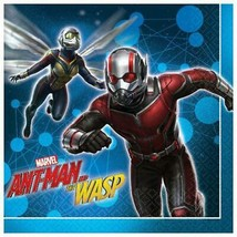 Ant-Man and Wasp Lunch Napkins Birthday Party Supplies 16 Per Package NEW - $5.44