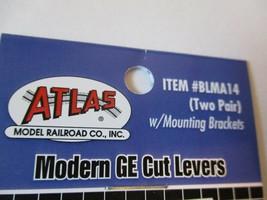 Atlas BLMA14 Modern GE Cut Levers w/Mounting Brackets (Two Pair). N-Scale image 2