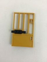 Playmobil 4461 Zoo Feeding Station Replacement Yellow Lock Door Piece Pa... - $8.86