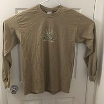 Daytona Beach Bike Week Men's Sz. M brown Long Sleeve 2004 T-Shirt  - $11.21