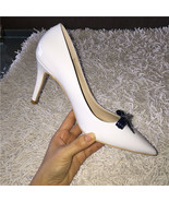 91H002 elegant high-heeled pointy pump in spell color,size 4-8.5, whie - $68.80