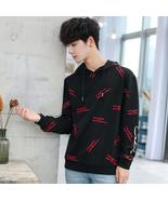 Men Sweatershirt Hoodies Casual Solid color Print  Letter Autumn Hoodies... - $74.97