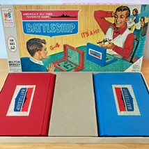 Vintage 1967 Battleship Game 4730 Milton Bradley Complete USA made GM2 - $51.95