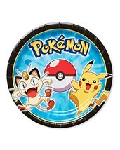 """American Greetings Pokemon Round Plate (8 Count), 7"""" - $4.06"""