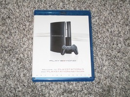 Welcome to Playstation 3 and Network BlueRay Disc, Play Beyond - $4.00