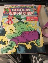 1974 Marvel Super-Heroes #44 Incredible Hulk & Sub-Mariner - $5.99
