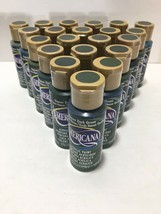 NEW Americana Acrylic Paint Houser Dark Green 2 fluid oz. (Lot of 21) Bottles - $37.99