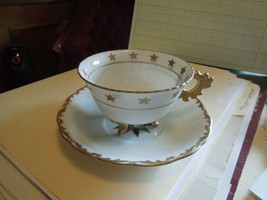Tea cup & Saucer, Fancy Chubu china, Hand Painted, #3526 - $9.85