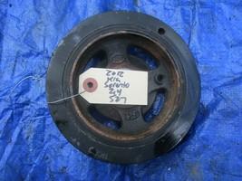 2012 Kia Sorento 2.4 crankshaft pulley OEM engine motor Hyundai Sonata b... - $59.99