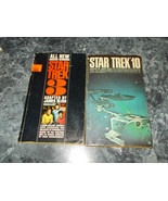 Star Trek  by James Blish lot of 2 science fiction paperbacks - $3.99