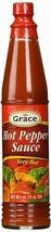 Grâce Jamaïcain Piment Sauce -aucun Msg -89ml (Paquet de 12) - $29.98