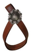 Western Horse Leather Tie Down / Nose Band Keeper Strap Barrel Racing Rodeo - $12.38
