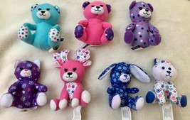 Lot of 7: Build-A-Bear 2015 McDonald's Collectible Kitty Husky Teddy - N... - $29.69