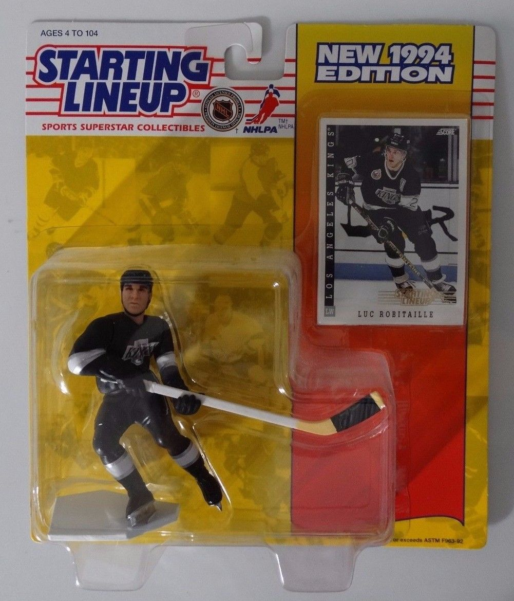 Starting Lineup Luc Robitaille 1995 action figure