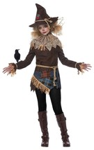 California Costumes Creepy Scarecrow Child Girls Costume Cosplay Party 0... - $29.00