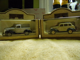 Days Gone By Pair English Made Chevrolet Pickup and Sedan New In Box - $90.00