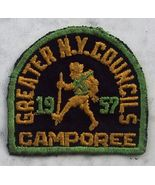 Greater N Y Councils Camporee Boy Scout Patch 1957 - $13.00