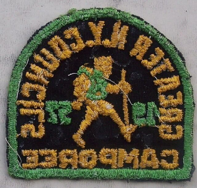 Greater N Y Councils Camporee Boy Scout Patch 1957