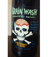 Brain Wash - Carbonated Drink, Blue Soda RARE, hint of Jalapeno  - $12.00