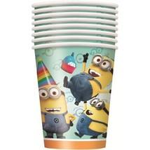 Despicable Me 2 Party 9oz Cups [8 Per Pack]  - £3.79 GBP