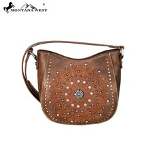 Montana West Embroidered Pattern, Laser Cut-out, Concho Collection Crossbody - $54.99