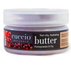 Cuccio Naturale Butter Blend, Pomegranate & Fig   8oz (226g)