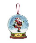 Joy Snowglobe Ornament Kit counted cross stitch... - $5.85
