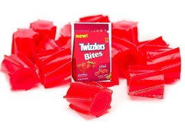 TWIZZLERS STRAWBERRY BITES Licorice 4 LBs Chewy Gourmet Bulk Filled Cand... - $34.99