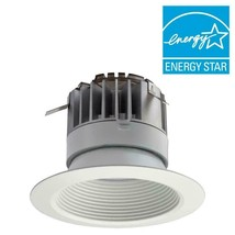 Lithonia Lighting 4 in Recessed Baffle LED Downlight in White 4BPMW LED M4 - $10.39