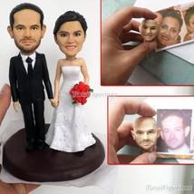 Turui Figurines wedding cake topper figure ceramic wedding cake toppers ... - $148.00