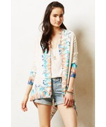 NWT ANTHROPOLOGIE SAPPHIRE FLAME CARDIGAN by GUINEVERE S - $87.29