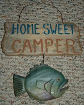HOME SWEET CAMPER / WALL DECOR FOR YOUR CAMPER / TRAVEL TRAILER  - $9.95