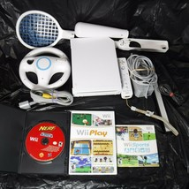 Nintendo Wii RVL 001 Console System Gamecube Compatible White Sports Pla... - $70.13
