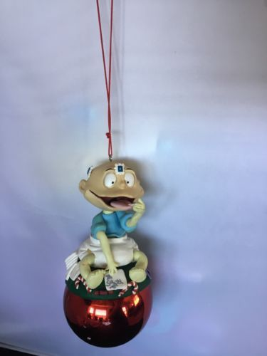 Nickelodeon 1990s Rugrats Tommy Baby  Christmas Ornament J01