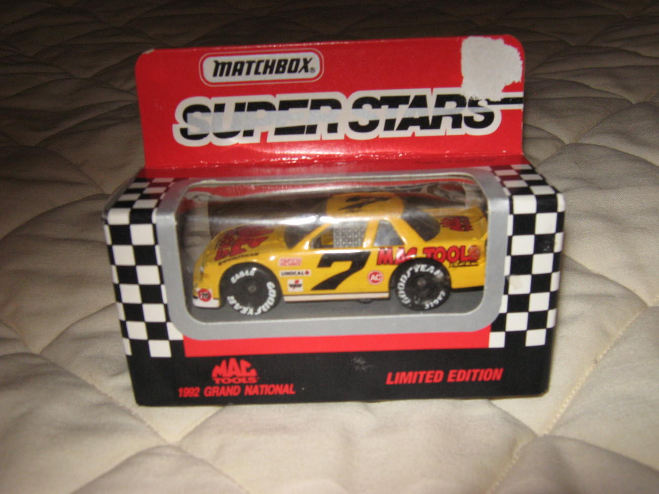 "Matchbox NASCAR,""#7 Mac Tools"""