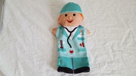 "Melissa & Doug 11"" Dr. Physician Velour Hand Puppet Worker Career - $4.94"