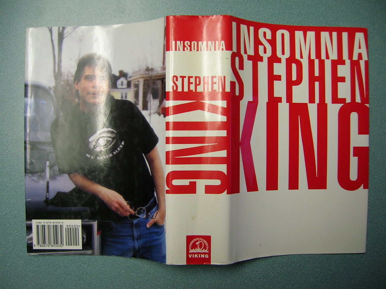 Stephen King - INSOMNIA - First Edition