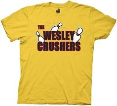 The Big Bang Theory The Wesley Crushers Bowling Team T-Shirt, NEW UNWORN - $19.34
