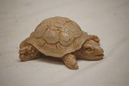 Mini Garden Flower Pot Resin Turtle Figurine Shadow Box Shelf Whimsical ... - £6.86 GBP